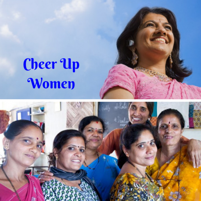 Cheer up! Write up on middle aged women